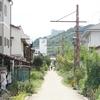 倉敷市児島の下津井電鉄軌道跡「風の道」を自転車で走る