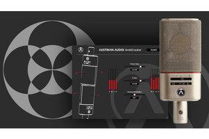 AUSTRIAN AUDIO AmbiCreatorプラグインを無償配布。OC818×2本でAmbisonicsを実現