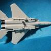 模型日記●F-15Jイーグル 1/144 旧キット●途中写真 単色 未塗装(ごく一部塗装)古来のメーカーLS