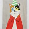 パーティーな感じの猫の絵が売れました!