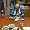 幸運な病のレシピ( 237 ) 夜:汁仕立て直し、カツの卵とじ、刺し身