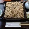加賀市片山津温泉にあるそば処なごみ庵で、せいろ蕎麦大盛