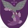 鷹の紋章。vs 魚!
