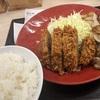 牛カツと牛焼肉の合い盛り定食