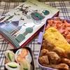 ハラミの味噌焼き弁当と『世界の民話』