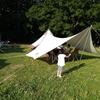 家族キャンプ。小学生は楽しいが、アラフォー親には結構キツいのが事実…