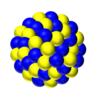 原子の構造と電子配置③ 40粒で原子核ぽいのを描いてみた