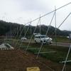 防風ネット設置工事 (福島県)
