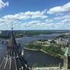 【カナダ】国会議事堂のツアーに参加。タワーからオタワの街並みが綺麗に見えます☆