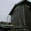 古い外壁下見板の修理