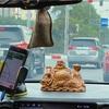 ハノイのタクシーの車窓から(Chua Lang周辺)
