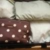 ☆手作り旅行用衣類袋を使いました!