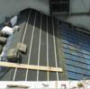セメント瓦修理1(旧式の二本線平型03)
