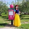 青森県の弘前市りんご公園りんごのポスト