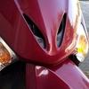 リード110EX フロントポジション/ウインカーとライセンスランプを交換した