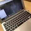MacBook Air2014 11インチの画面がチラついた件
