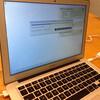 MacBook Airバッテリ交換