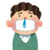 風邪ひいて治りかけって感じ。