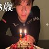 宇野樹君インスタより 【Happy Birthday】23歳‼️アスリート!ケーキホール喰い