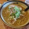 富山県富山市にあるラーメン屋さん、麺屋つくしで濃厚な味噌ラーメン。