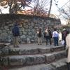 千田教授と行く松阪城 拡張を繰り返した城壁は息も絶え絶え