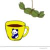 パンダの喫茶店「カフェ 群青パンダ」4 パンダのイラスト