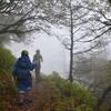 ルイの初登山 雲の上で