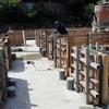 新築アパートの工事 基礎工事