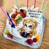 【お菓子の工房cocon】さんの【煉獄杏寿郎ケーキ】でお誕生日祝い▶︎来週の予約状況