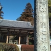 能仁寺~飯能図書館  そして 茶論