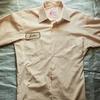 古着「Exective Service」タグの半袖シャツをご紹介。ポリコットン生地のシャツです