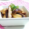 2つの食感を楽しめる!『れんこんと椎茸の甘辛にんにく醤油煮』レシピ【食物繊維が豊富なきのこで腸活③】