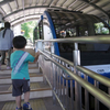 皿倉山のケーブルカー、スロープカーに乗ってきました。