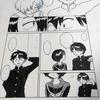 【漫画制作136日目】ペン入れ進捗その34 / 構想メモ