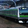 12月30日撮影 横浜線 八王子みなみの駅 相模線205系を撮影
