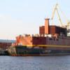 海上浮上式原子力発電所で係留試験開始