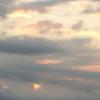 昨日のご臨在 〜雲の中の栄光