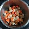 ホットクックで厚揚げと大根の煮物(醤油味)のレシピに挑戦