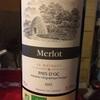 【5€ワイン制覇】その5:これはかなりオススメ。Château le Bosquet 『 Merlot Pays D Oc』  【ビオワイン】