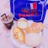 お昼は、パンパパ~ン( *˘ ³˘)♡