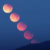 ✨月没帯食(7月17日 山羊座で部分月食)~lunar eclipse~