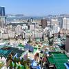 【釜山】「草梁イバグキル」... 市内を一望できる庶民の街・展望台とケーブルカー