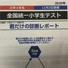 【結果】全国統一小学生テスト(4年生・11月)