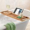 半身浴しながら読書ができる便利アイテム、バスタブトレー
