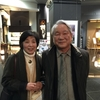 大阪でテレビ収録、京都で藤原先生夫妻と食事。