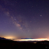 霧ヶ峰で見る星空 天の川と雲海が広がる景色