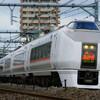 8月19日撮影 高崎線 583系を待っている間に撮影した185系 651系