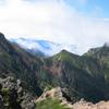 日本百名山 八ヶ岳山系赤岳 #THETA 空がきれいすぎる