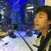久米島のオオウナギ釣り