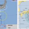 【台風情報】7月26日09時に潮岬の南南東約430kmで台風6号『ナーリー』が発生!今のところ紀伊半島~東海~関東コースが有力!?気になる気象庁・米軍・ヨーロッパの予想は?